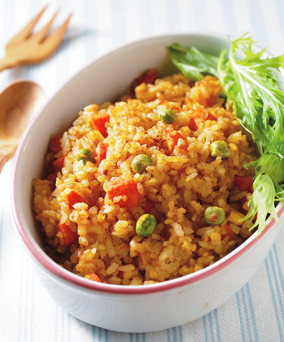 食譜:咖哩烤飯