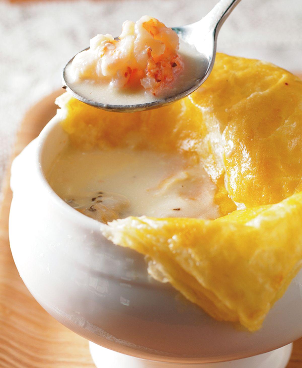 食譜:海鮮酥皮濃湯