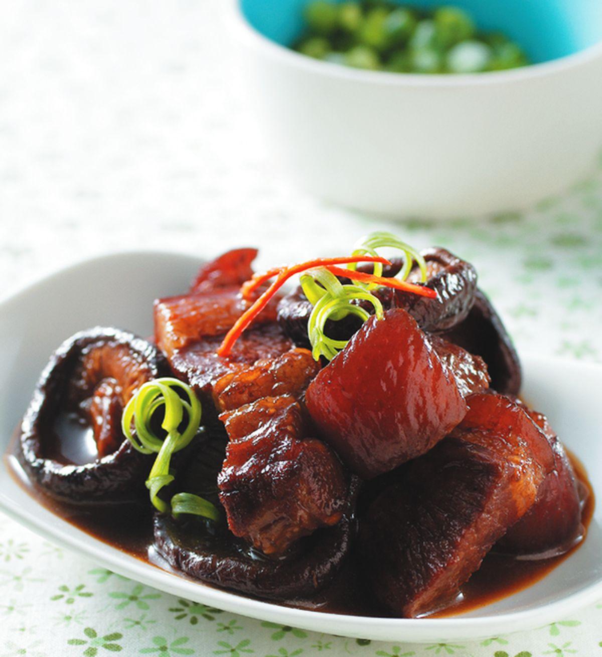 食譜:香菇滷肉