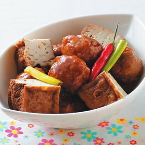 油豆腐什錦滷