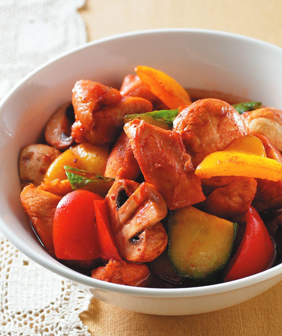 食譜:紅趜滷雞肉