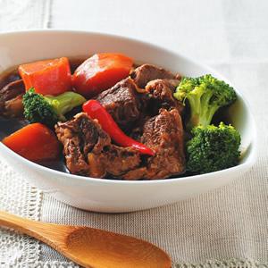 紅蘿蔔滷牛肉