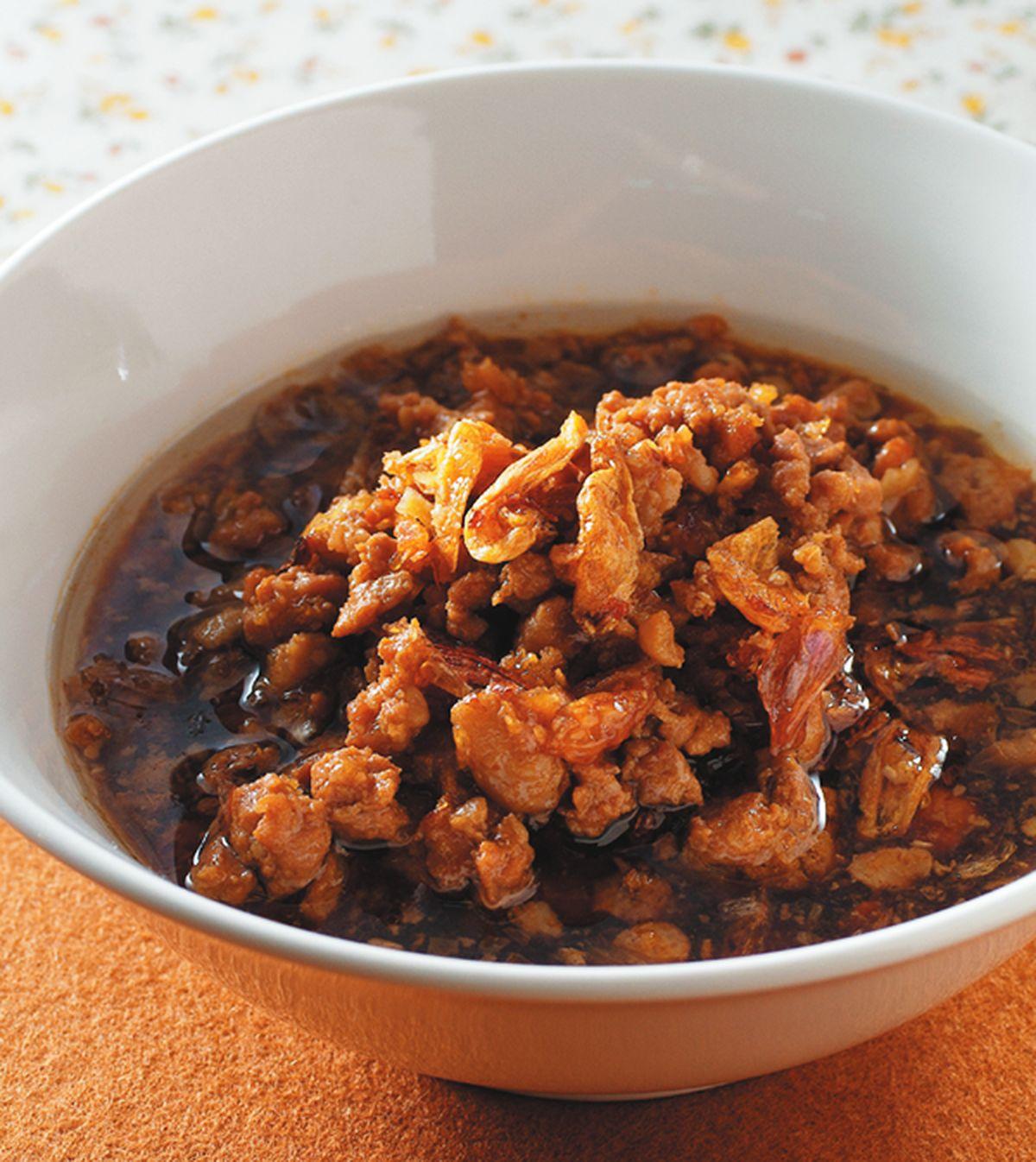 食譜:蔥油肉燥
