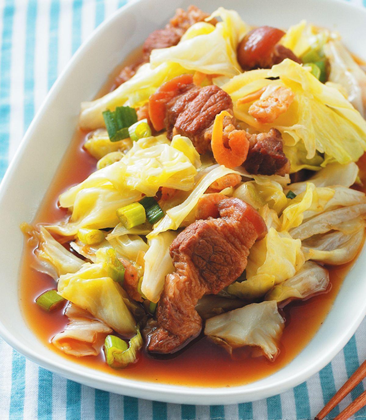 食譜:滷蝦米高麗菜