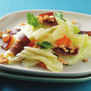 鮮花生炒高麗菜