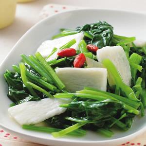 山藥枸杞菠菜