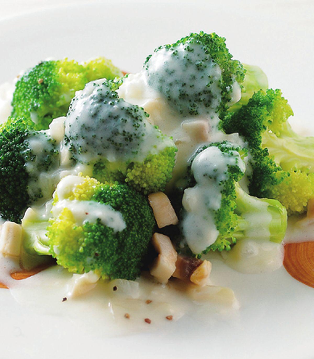 食譜:白醬炒綠花椰