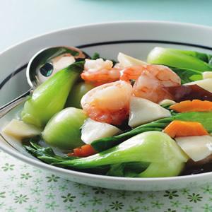 蝦仁青江菜