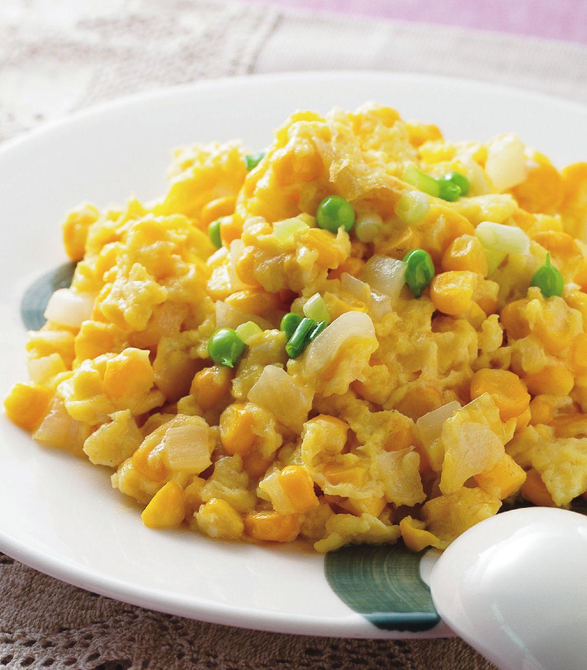 食譜:玉米滑蛋