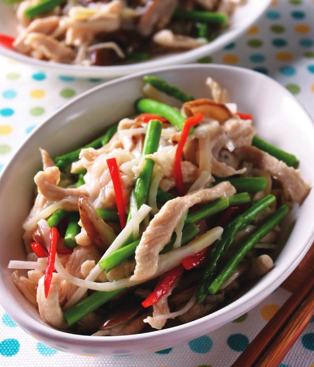 食譜:竹筍雞絲
