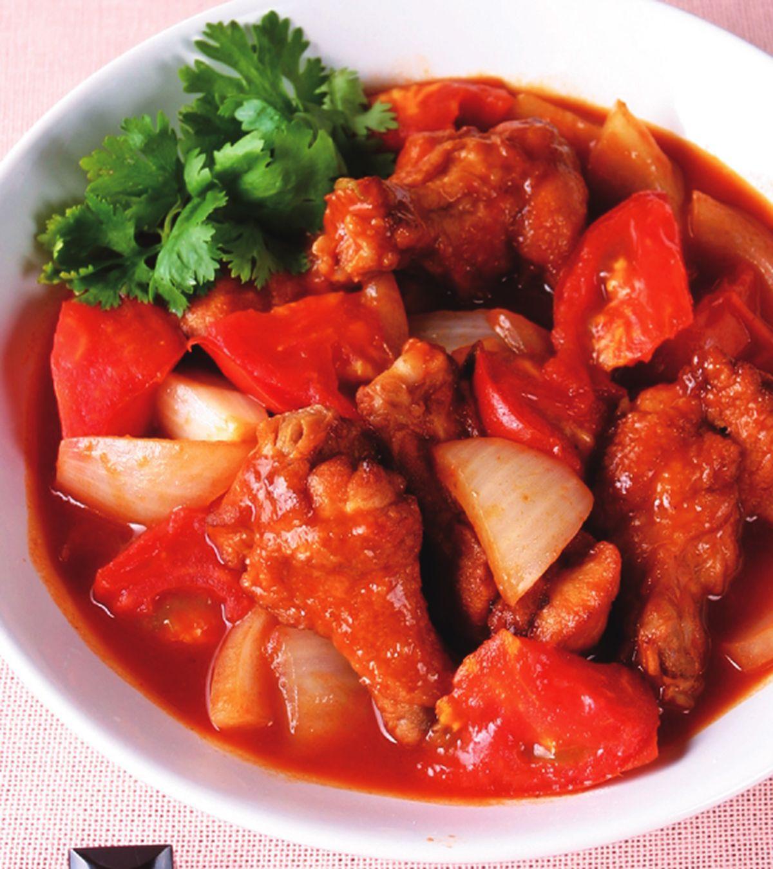食譜:茄汁燒雞翅腿
