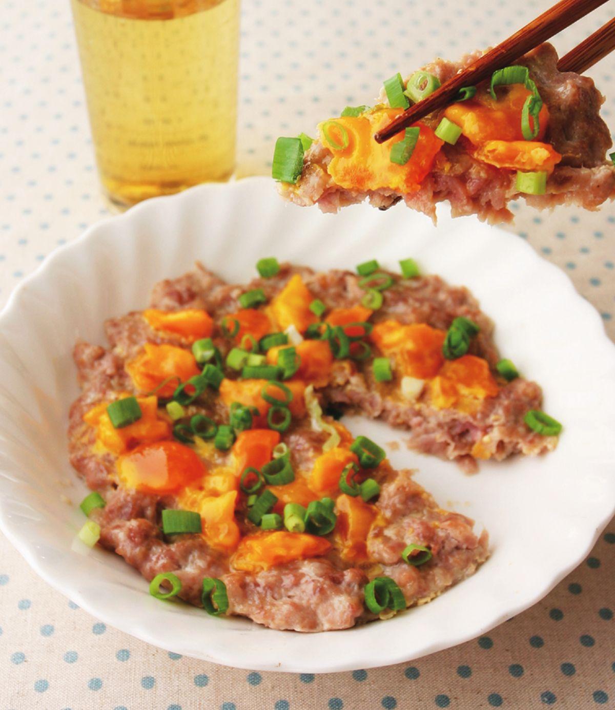 食譜:鹹蛋蒸肉(3)