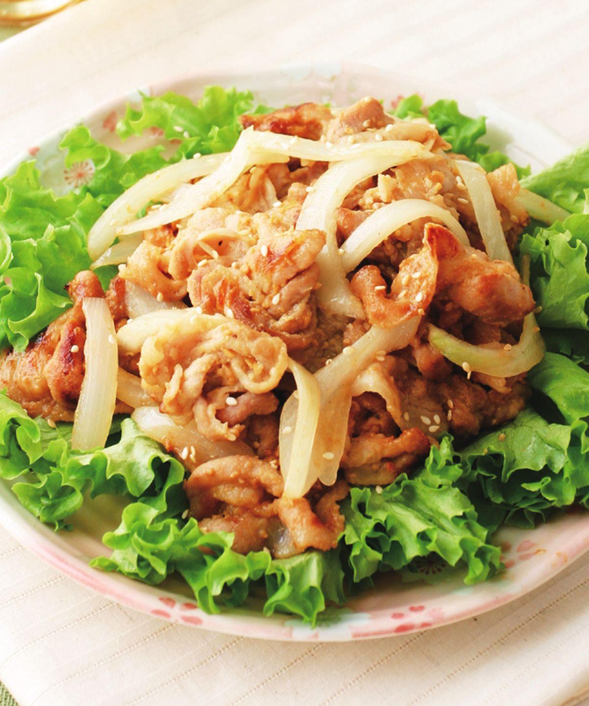 食譜:味噌燒肉片