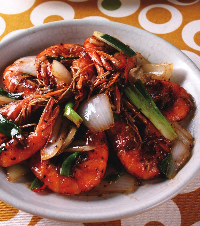食譜:胡椒蝦(3)