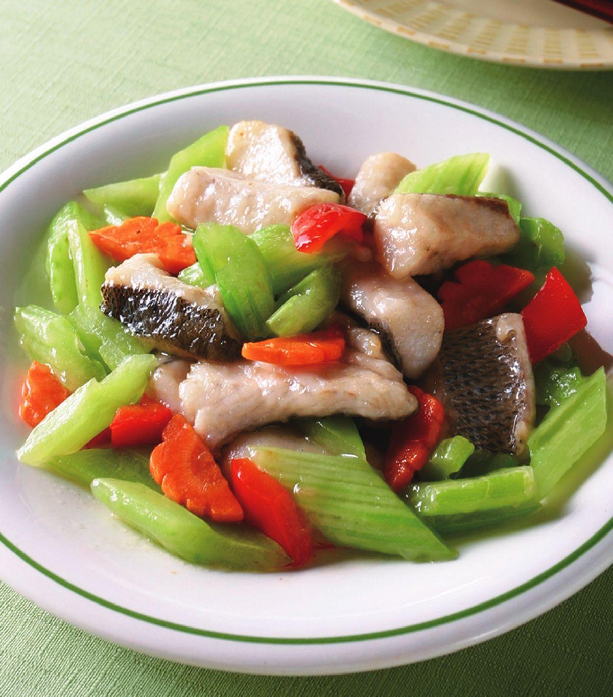 食譜:碧綠炒魚塊