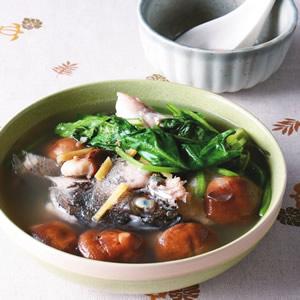 魚頭鮮菇湯
