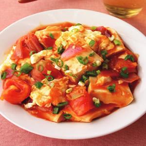 蕃茄豆腐燴蛋