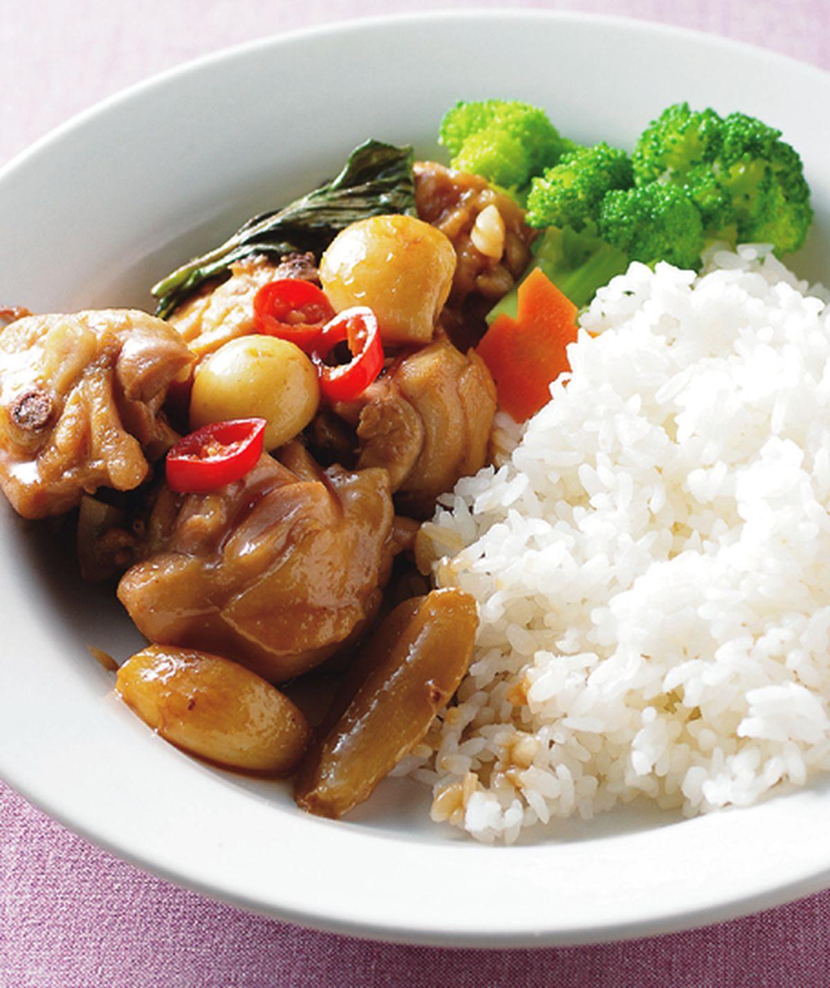 食譜:塔香三杯雞飯