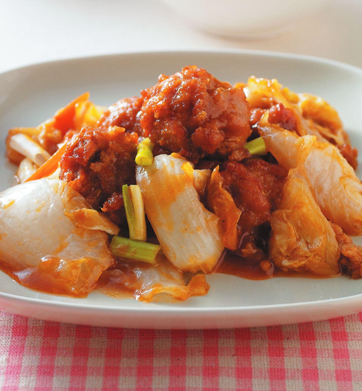食譜:紅燒肉丸子飯