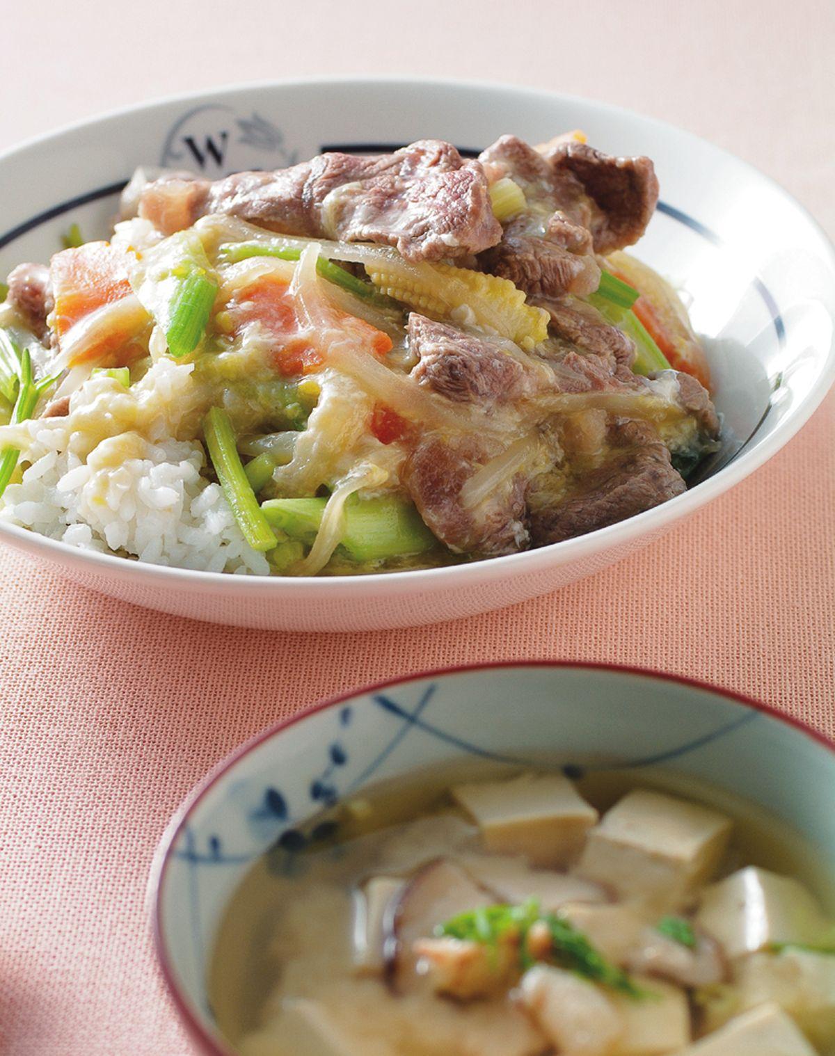 食譜:滑蛋牛肉燴飯