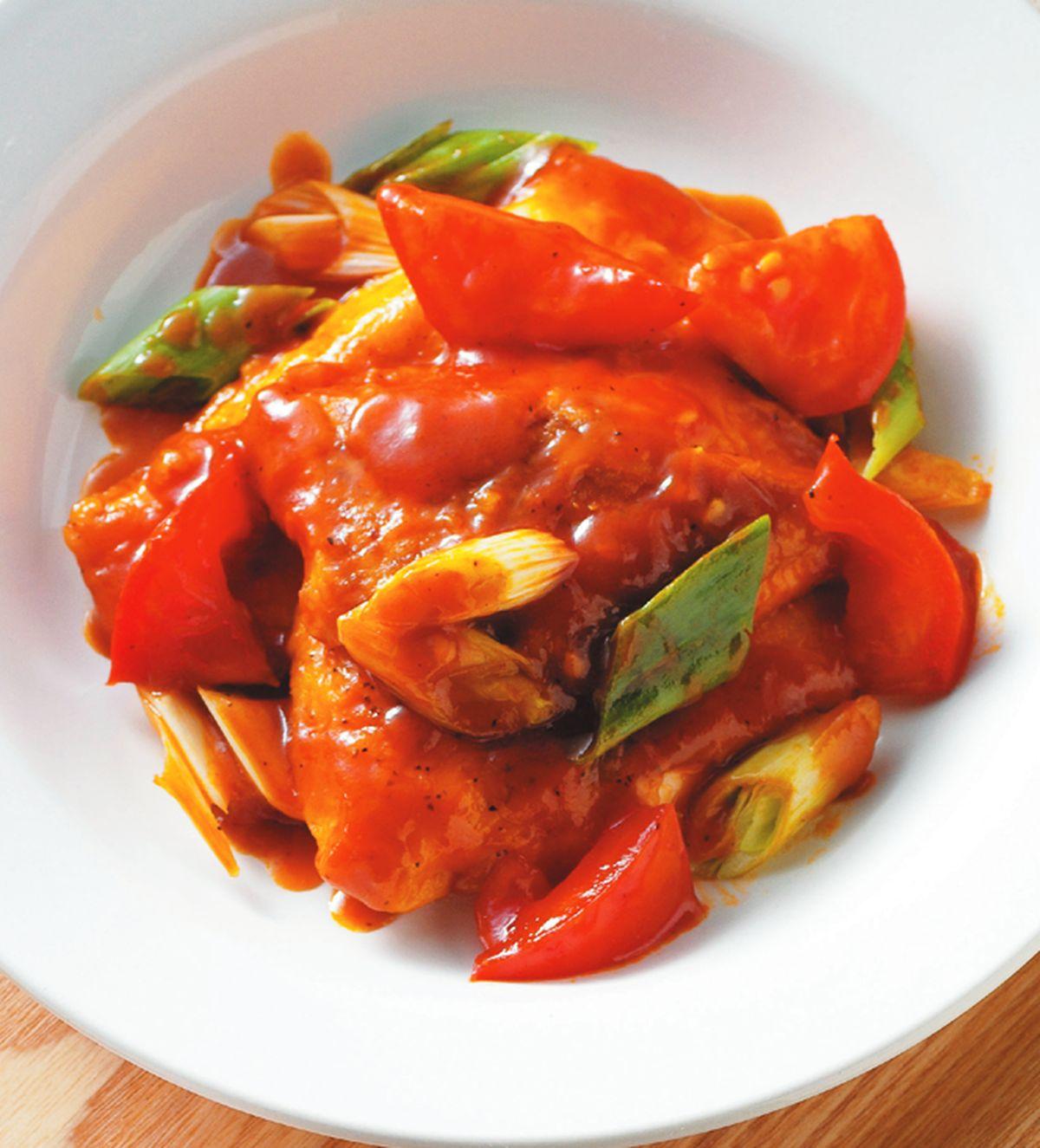 食譜:紅燒魚片飯