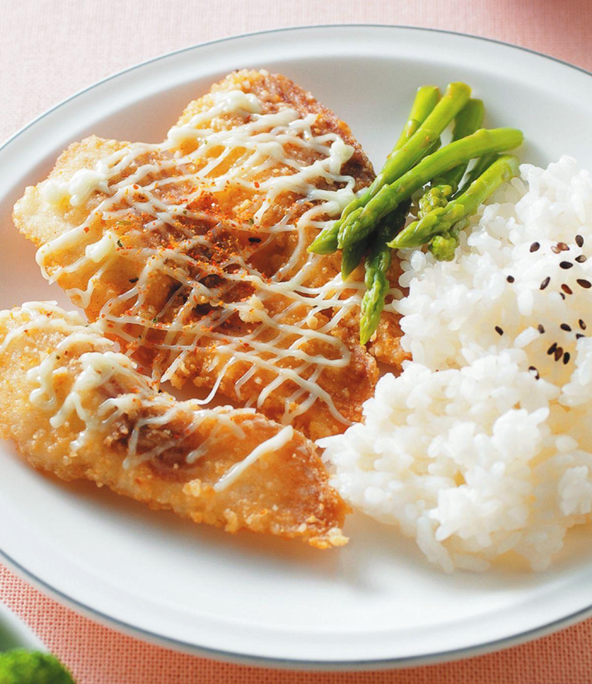 食譜:芥末炸魚片飯