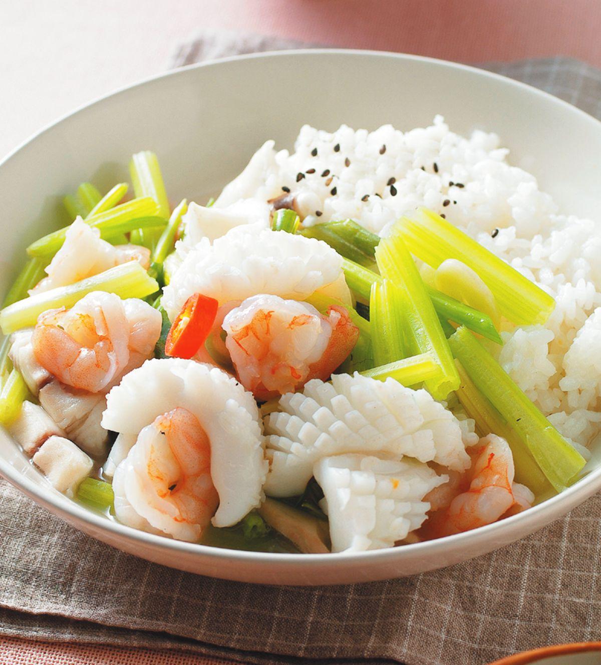 食譜:三鮮燴飯(2)