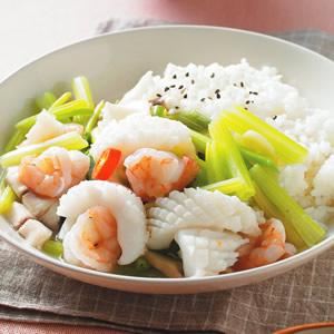 三鮮燴飯(2)