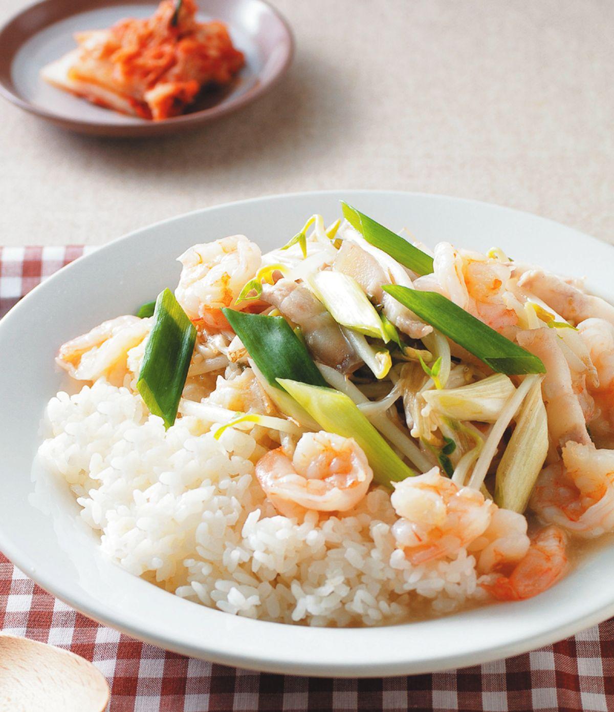 食譜:滑蛋蝦仁燴飯(3)