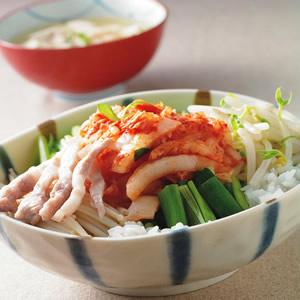 韓式泡菜蓋飯