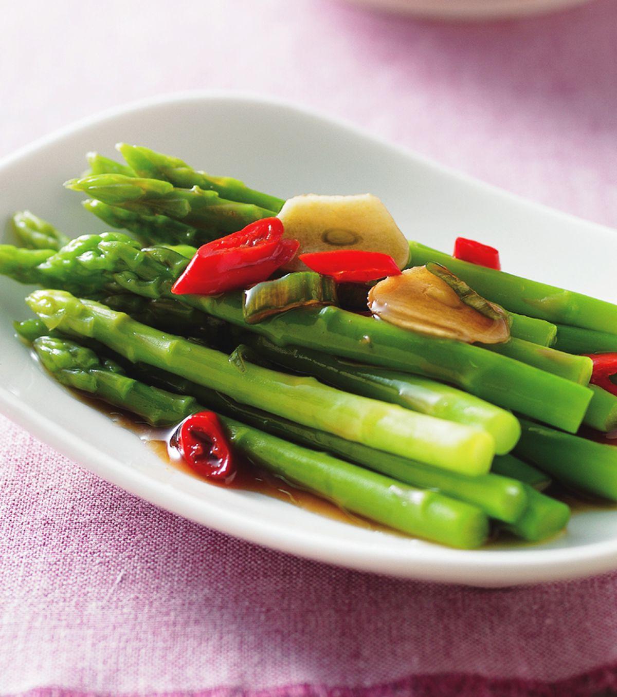 食譜:蒜淋蘆筍