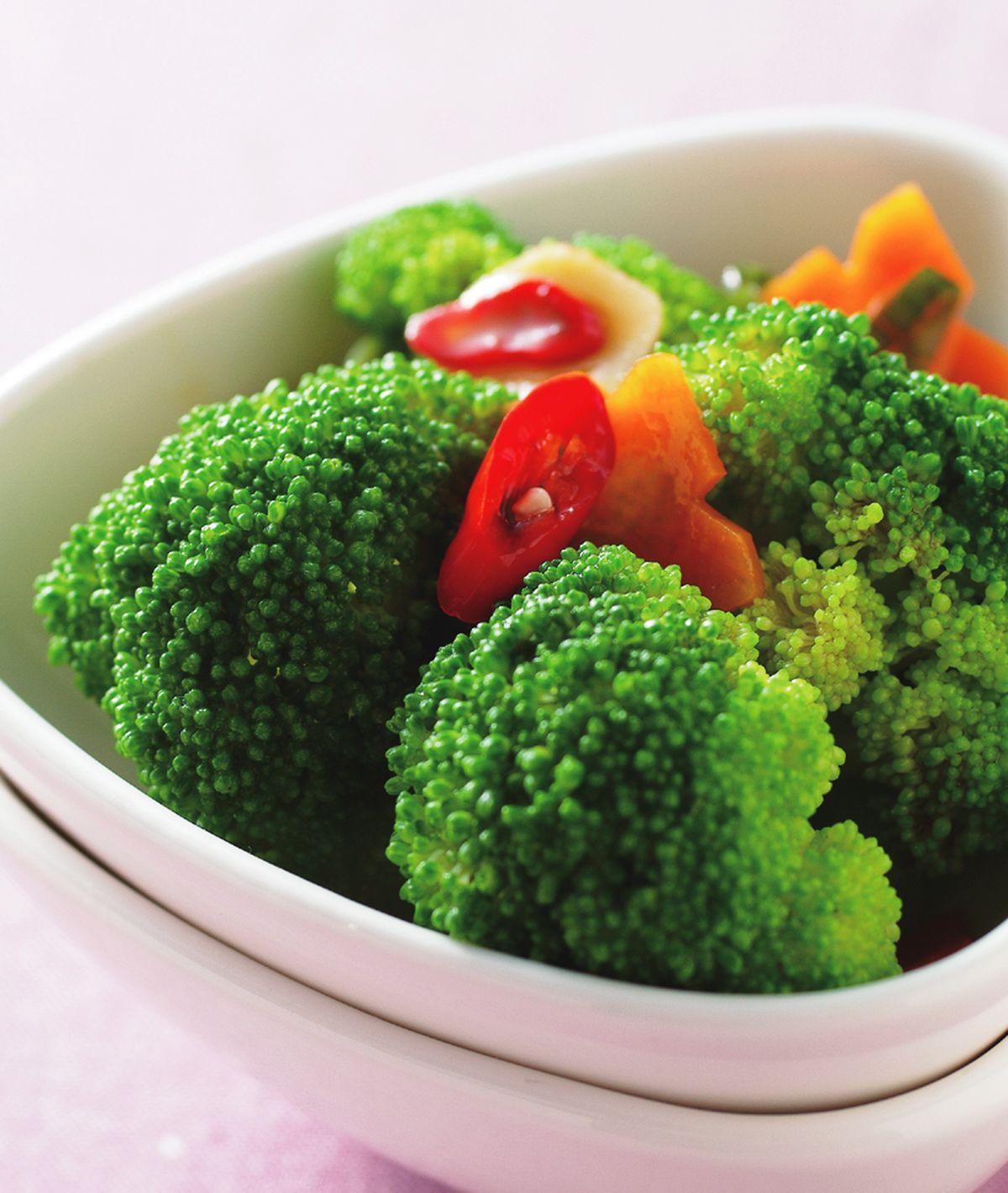 食譜:青炒花椰菜