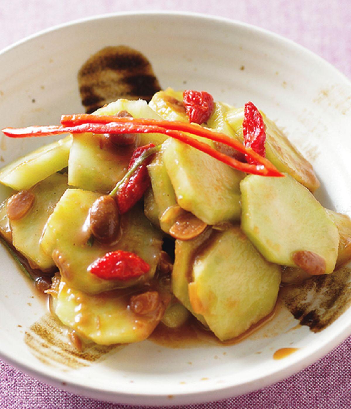 食譜:涼拌菜心(1)