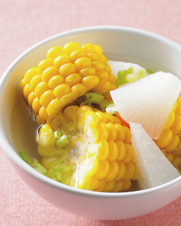 食譜:玉米蘿蔔湯
