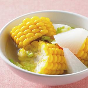 玉米蘿蔔湯