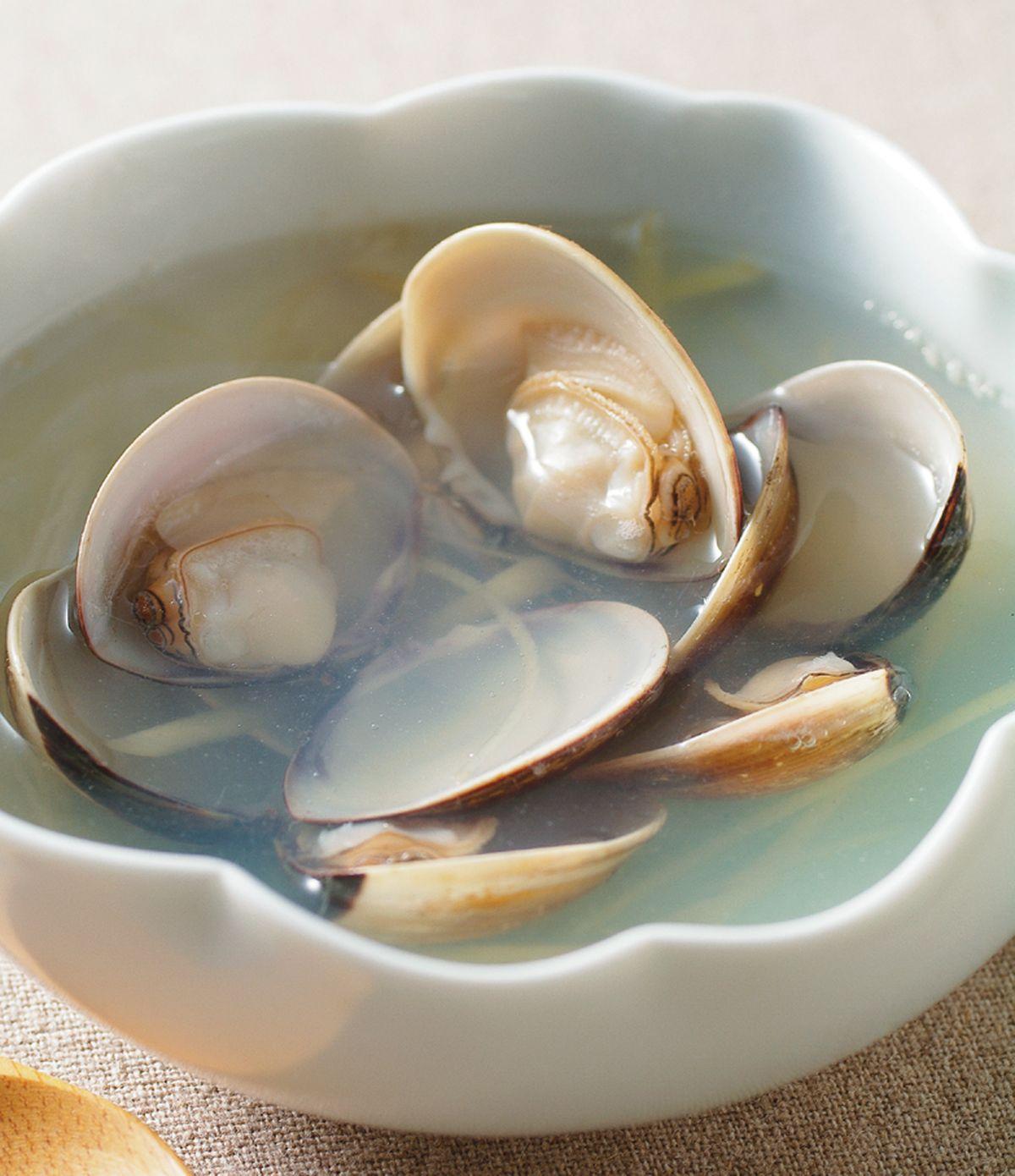 食譜:薑絲蛤蜊湯(1)