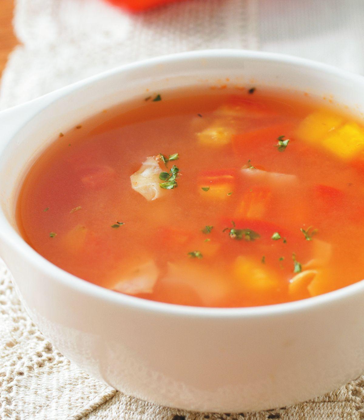 食譜:義式蔬菜湯