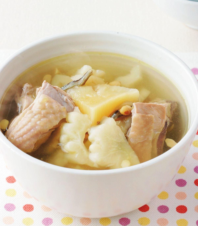 食譜:鳳梨苦瓜雞湯(1)
