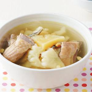 鳳梨苦瓜雞湯(1)