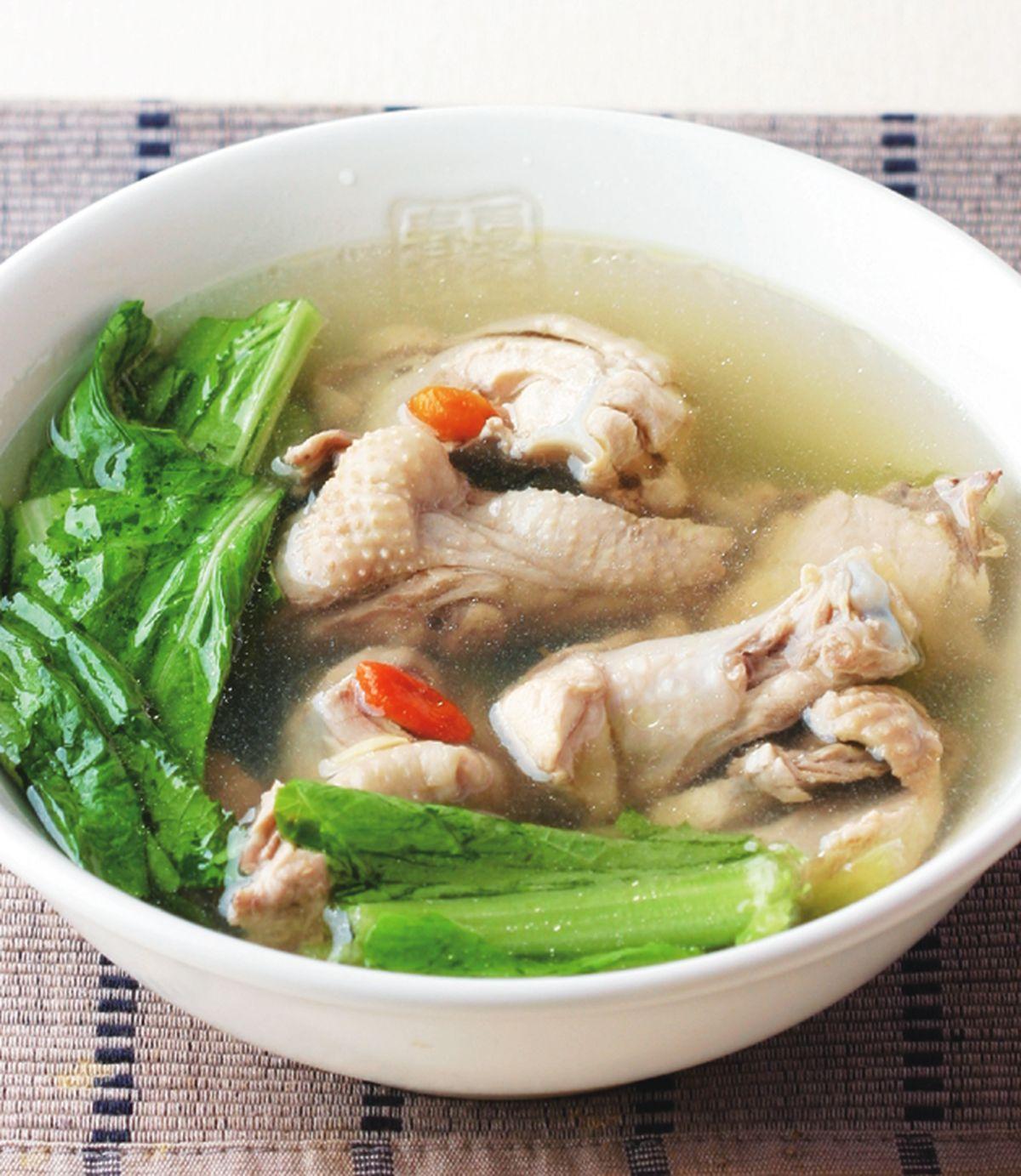 食譜:芥菜雞