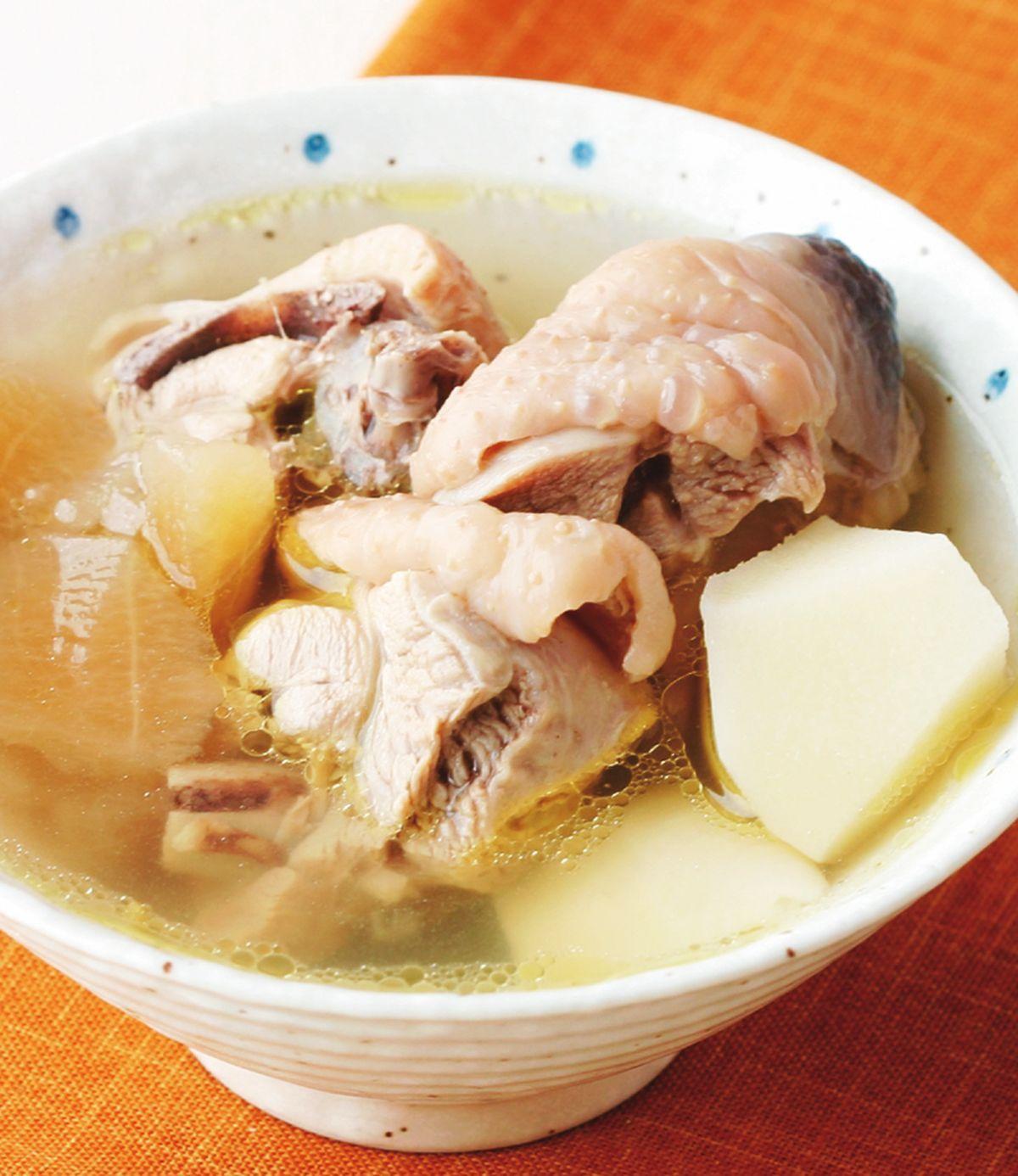 食譜:竹筍雞湯