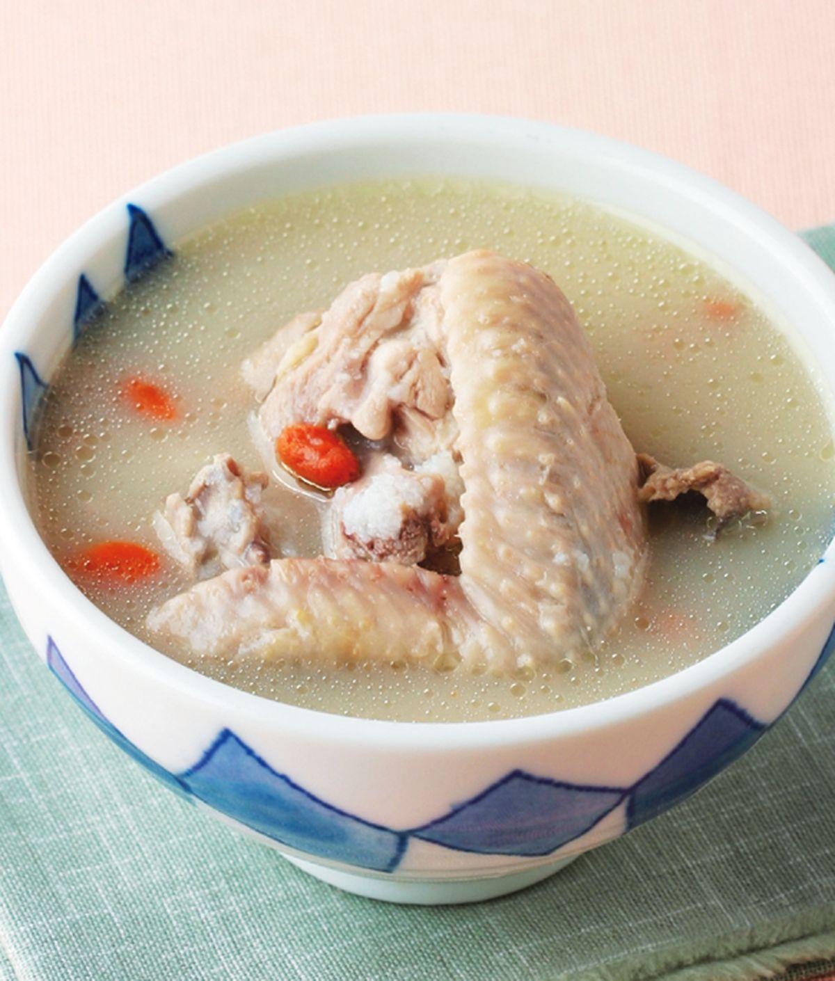 食譜:糙米燉雞湯