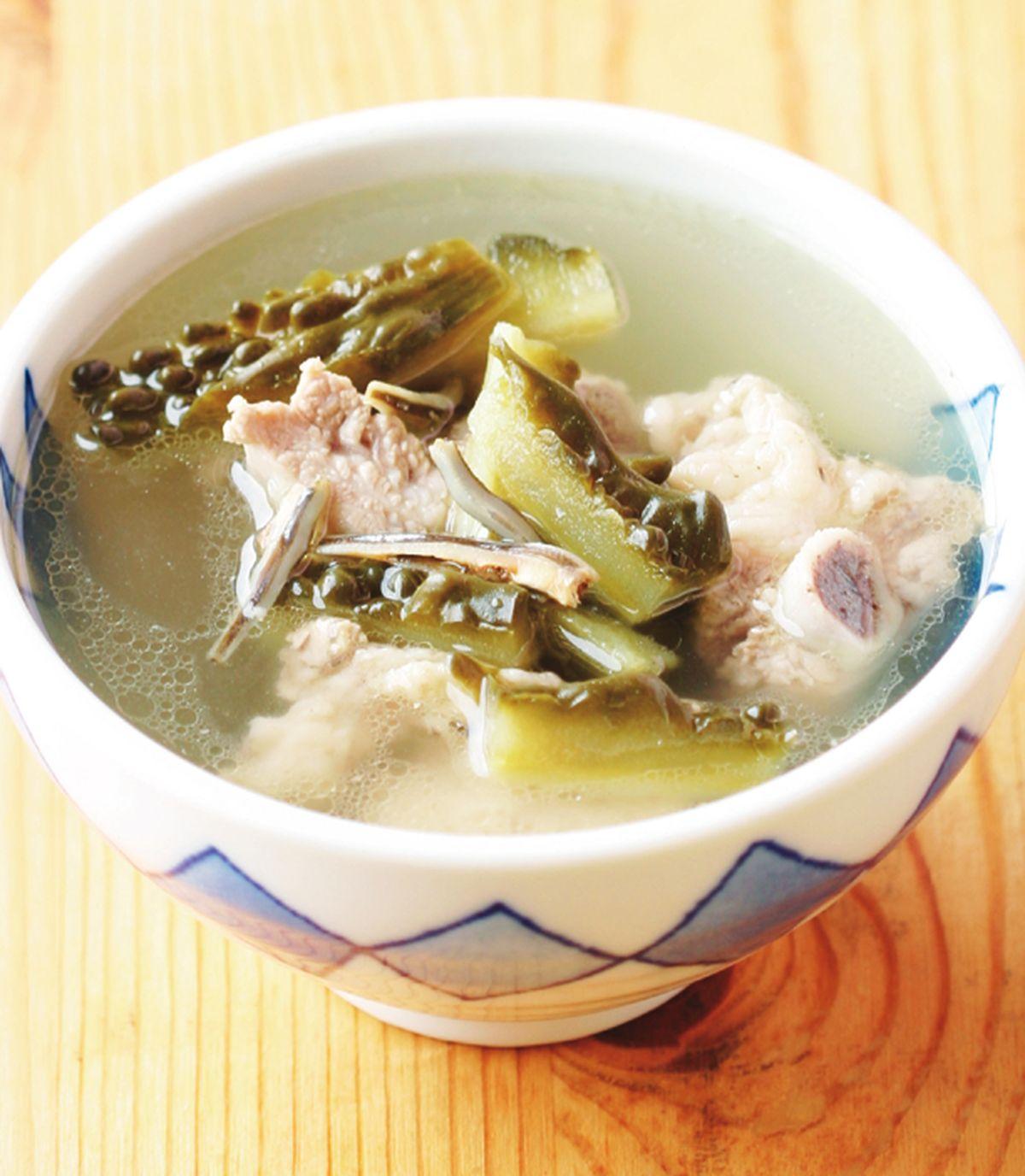 食譜:苦瓜排骨湯(4)