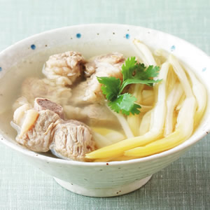 金針排骨湯(2)
