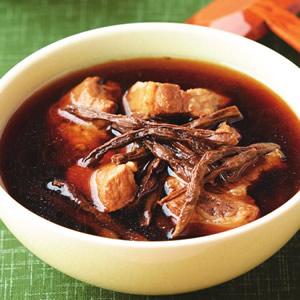 菜豆乾排骨湯