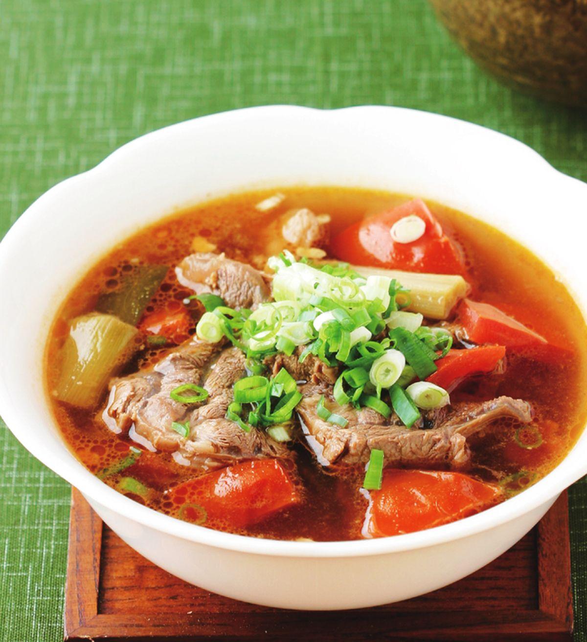 食譜:蕃茄牛肉湯(1)