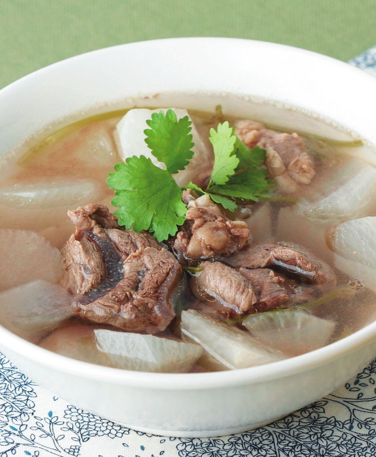 食譜:清燉牛肉湯(1)