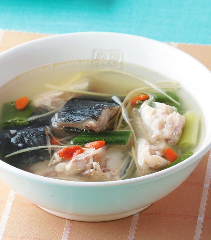食譜:薑絲鮮魚湯(1)