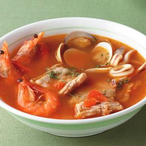 海鮮蕃茄湯