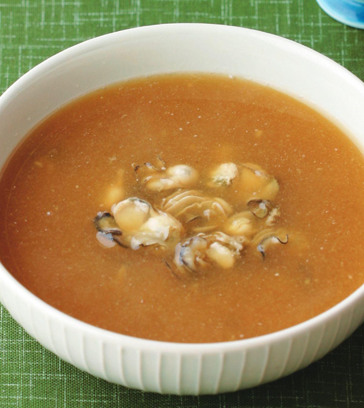 食譜:牡蠣蘿蔔泥湯